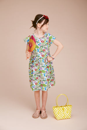 Rainforest Print Dress