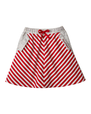 Stripey Retro Skirt