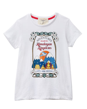 Himalayan Kingdom Adventures Printed T-Shirt