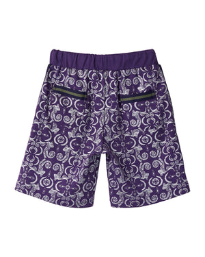 Tribal Long Shorts - Purple