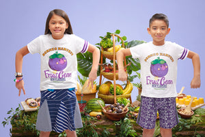 Fruit Gems T-Shirt - Mangosteen