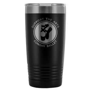 Support The Arts Conshy Ballet 20oz Tumbler