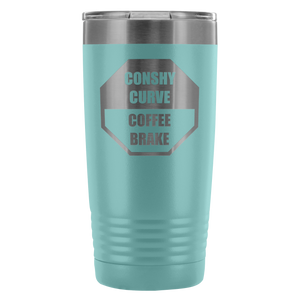 Conshy Curve Coffee Brake 20oz On-The-Go Tumbler