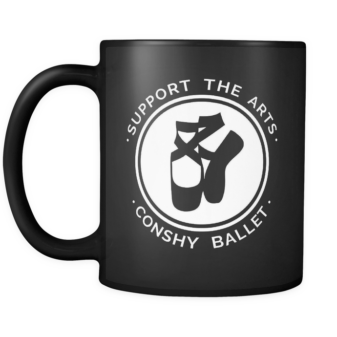 Support the Arts! Conshy Ballet Mug