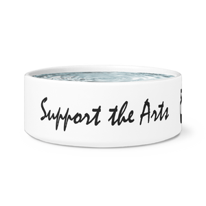Support The Arts Conshy Ballet Dog Bowl