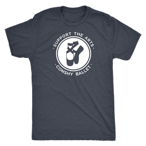 Support the Arts! Conshy Ballet Men's Triblend T-Shirt