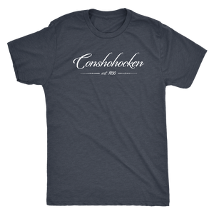 Conshohocken Est 1830 Mens Triblend T-Shirt