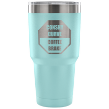 Conshy Curve Coffee Brake 30oz Tumbler