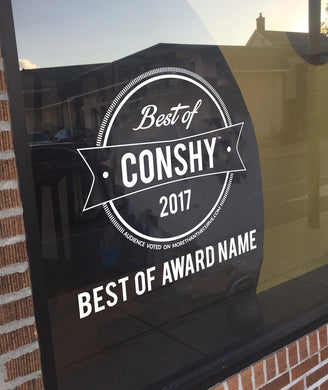 Best Of Conshy Window Vinyl Decal