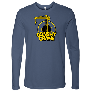 Conshy Crane Mens Long Sleeve Shirt