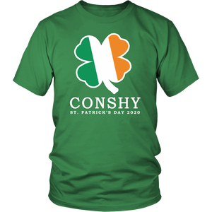 Conshy Shamrock St. Patricks Day 2020 Adult T-Shirt