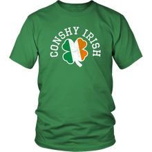 Conshy Irish Shamrock Adult T-Shirt