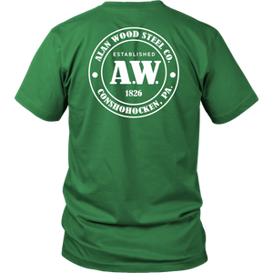 Alan Wood Steel Co. Double-Sided T-Shirt