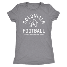 PW Colonials Football Womens Triblend T-shirt
