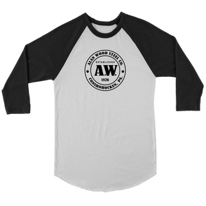 Alan Wood Steel Co. 3/4 Raglan Unisex Shirt
