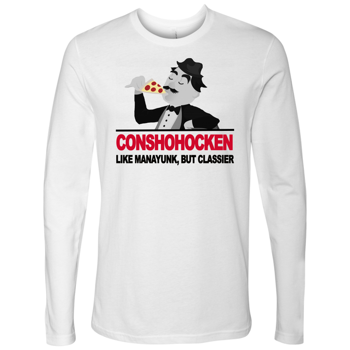 Conshohocken. Like Manayunk, but classier t-shirt