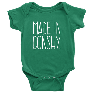 Made In Conshy Onesie