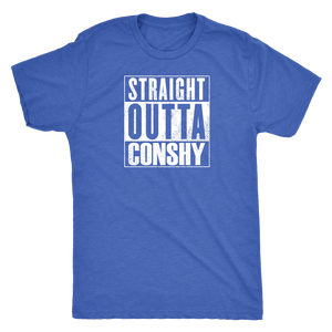 Straight Outta Conshy Mens T-Shirt