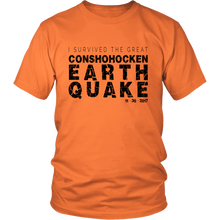 I Survived the Great Conshohocken Earthquake T-shirt!