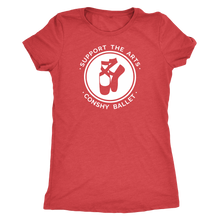 Support the Arts! Conshy Ballet Womens Triblend T-Shirt