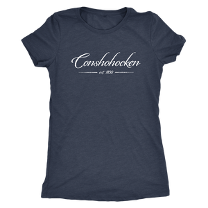 Conshohocken Est 1830 Womens Triblend T-Shirt