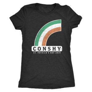 Conshy St. Patricks Day 2019 Rainbow Womens Triblend T-Shirt