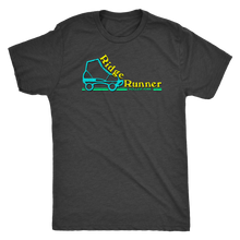 Ridge Runner Roller Rink Retro Mens Triblend T-Shirt