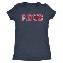P.DUB Womens and Mens Triblend Tshirts