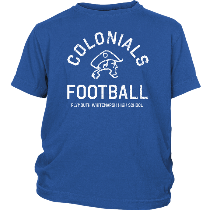 PW Colonials Football Youth T-Shirt