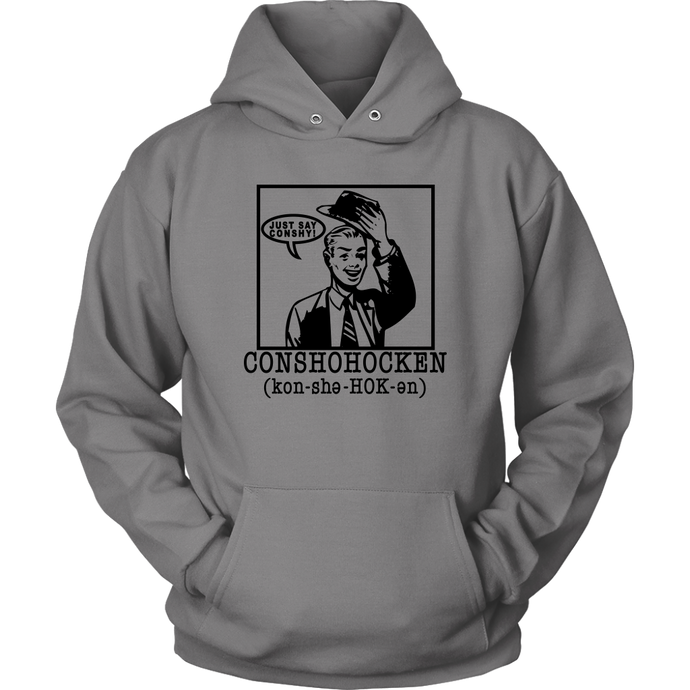 Just Say Conshy Sweatshirt - Male Design
