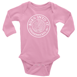Born Into It - Conshohocken - Long Sleeve Onesie