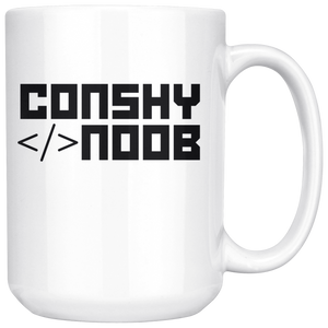 Conshy Noob Coffee Mug!