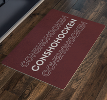 Welcome family and friends with this Conshohocken doormat