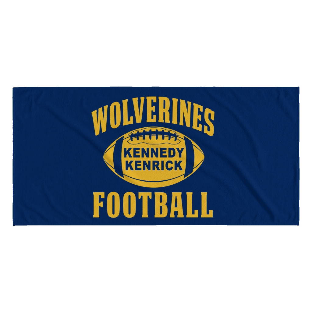 Kennedy Kenrick Beach Towel