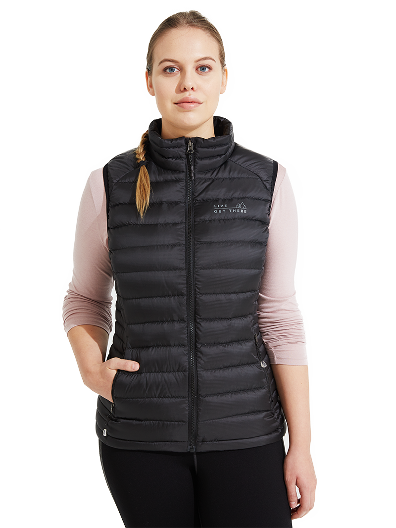 Live Out There - Alps Down Vest - Women's