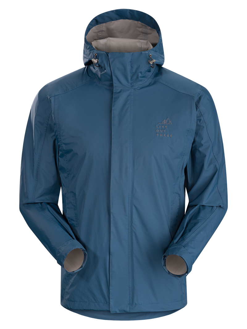 Live Out There - Kukui Rain Jacket - Men's
