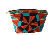 Handcrafted Kitenge Travel Cosmetic Bag