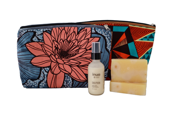 Travel Kit: Organic Serum and Organic Cleanse Soap