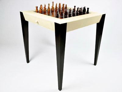 Shagreen Chess Game Table