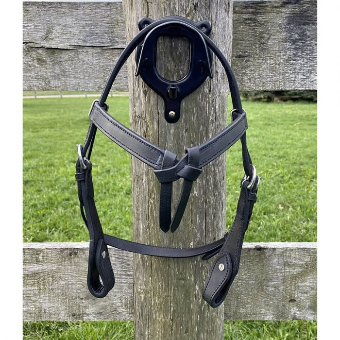 Mini Knotted Brow Headstall with Reins