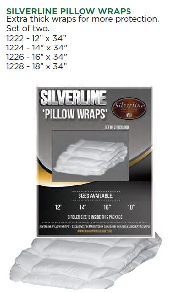 Silverline Pillow Wraps
