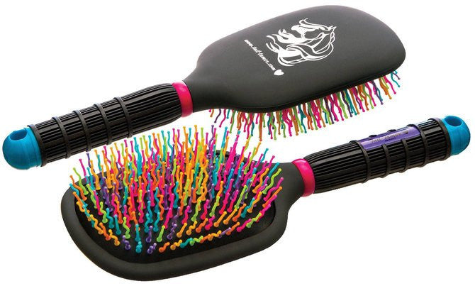 Professional Choice Tail Tamer Rainbow Paddle Brush