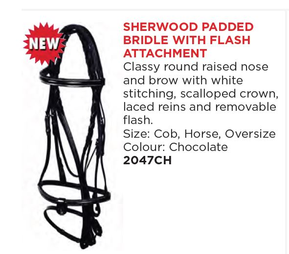 Sherwood Padded Bridle