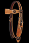 Country Legends Flowers & Copper Dots Headstall