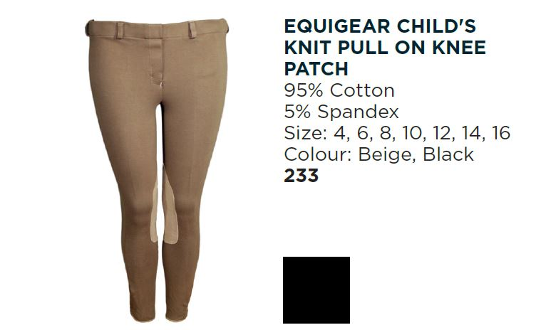 Equigear Child's Pull On Breech