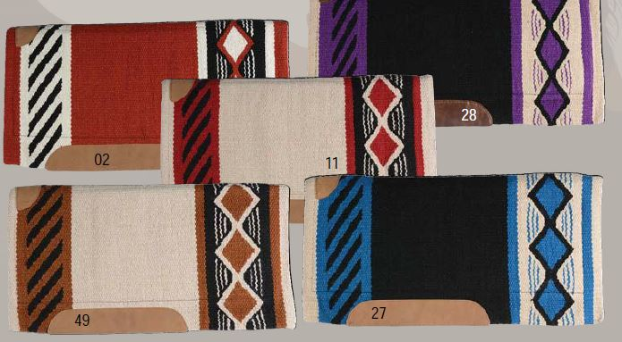 Country Legend Triple Diamond Saddle Pad 34x36