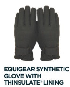Equigear Synthetic Winter Glove with Thinsulate Lining