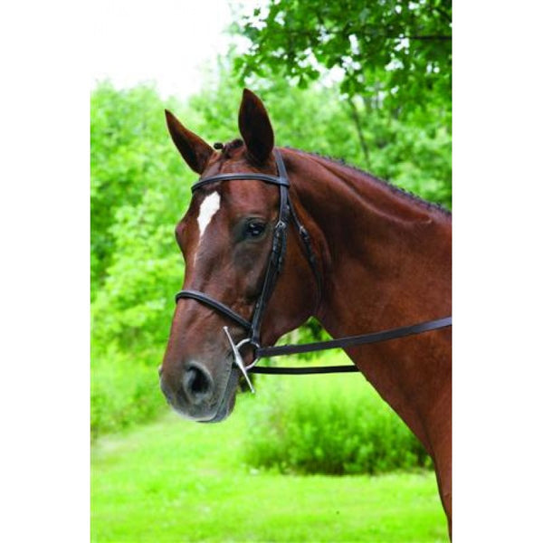 IMPERIAL PLAIN RAISED SNAFFLE BRIDLE