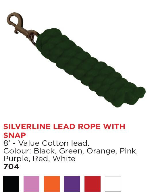 Silverline 8' Lead Rope