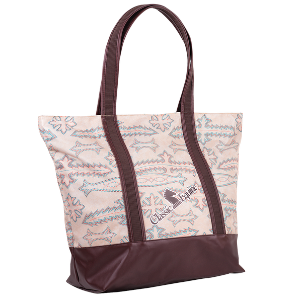 Classic Equine Large Tote Bag